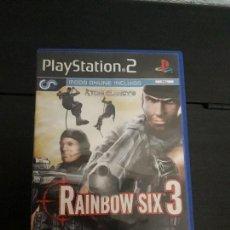 Videojuegos y Consolas: 08-00310 PS2-RAINBOW SIX 3. Lote 146563158