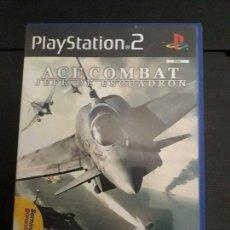 Videojuegos y Consolas: 08-00308 PS2-ACE COMBAT, JEFE DE ESCUADRON. Lote 146563278