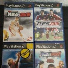 Videojuegos y Consolas: 08-00317 -18-19-20 PS2-PACK DEPORTES. Lote 146566258