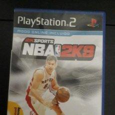 Videojuegos y Consolas: 08-00317 PS2- NBA 2K9. Lote 146566342
