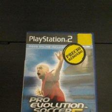 Videojuegos y Consolas: 08-00318 PS2-PRO EVOLUTION SOCCER 5. Lote 146566442