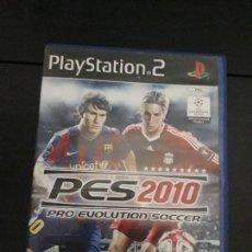 Videojuegos y Consolas: 08-00319 PS2-PRO EVOLUTION SOCCER 2010. Lote 146566718