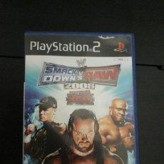 Videojuegos y Consolas: 08-00320 PS2-SMACK DOWN VS RAW 2008. Lote 146566786