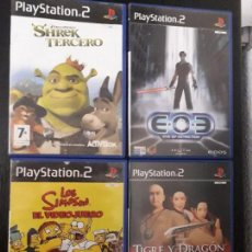 Videojuegos y Consolas: 08-00321 -22-23-24 PS2-PACK JUEGOS. Lote 146567826
