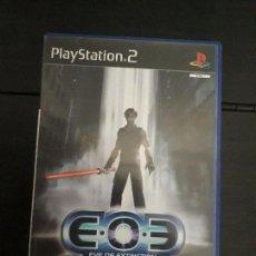 Videojuegos y Consolas: 08-00321 PS2-EVE OF EXTINCTION. Lote 146567890
