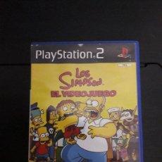 Jeux Vidéo et Consoles: 08-00322 PS2-LOS SIMPSONS EL VIDEOJUEGO. Lote 146567946