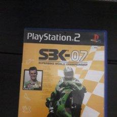 Videojuegos y Consolas: 08-00327 PS2-SBK 07. Lote 146568506