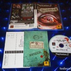 Videojuegos y Consolas: MANHUNT 2 - PS2 - SLES 54819 - ROCKSTAR GAMES. Lote 146661558
