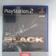 Videojuegos y Consolas: BLACK PS2. PS2. Lote 146680830