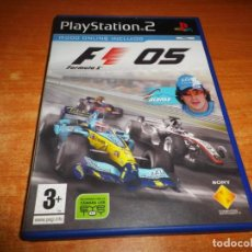 Videojuegos y Consolas: PLAYSTATION 2 FORMULA 1 05 JUEGO PARA PLAY STATION PS2 PAL DEL AÑO 2005 ESPAÑA FORMULA ONE 05 ALONSO. Lote 147371750
