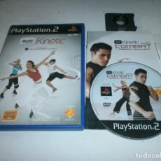 Videojuegos y Consolas: EYE TOY KINETIC PLAYSTATION 2 PAL ESPAÑA . Lote 147412498