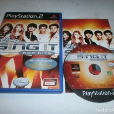 Videojuegos y Consolas: DISNEY SING IT POP HITS PLAYSTATION 2 PAL ESPAÑA. Lote 147412618
