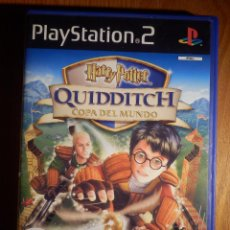 Videojuegos y Consolas: JUEGO PARA COSSOLA - PLAYSTATION 2 - PS2 - HARRY POTTER QUIDDITCH - COPA DELL MUNDO - EA GAMES. Lote 147418686