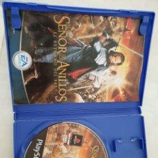 Videojuegos y Consolas: JUEGO PS2 EL SEÑOR DE LOS ANILLOS 'EL RETORNO DEL REY'. Lote 147574925