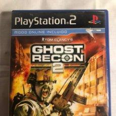 Videojuegos y Consolas: JUEGO PS2 GHOST RECON 2. Lote 147631342