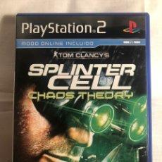 Videojuegos y Consolas: JUEGO PS2 SPLINTER CELL CHAOS THEDRY. Lote 147632880