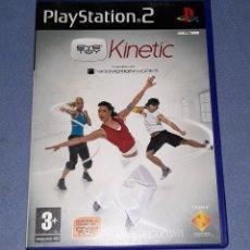Videojuegos y Consolas: JUEGO COMPLETO PLAYSTATION PS2 EYE TOY KINETIC ORIGINAL EN MUY BUEN ESTADO VER FOTOS. Lote 147705506