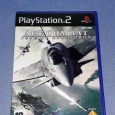 Videojuegos y Consolas: JUEGO COMPLETO PLAYSTATION PS2 ACE COMBAT JEFE DE ESCUADRON ORIGINAL EN MUY BUEN ESTADO VER FOTOS. Lote 147705850