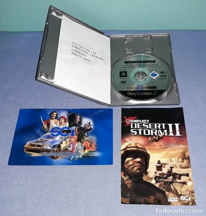 Videojuegos y Consolas: JUEGO COMPLETO PLAYSTATION PS2 DESERT STORM II ORIGINAL EN MUY BUEN ESTADO VER FOTOS - Foto 3 - 147733930