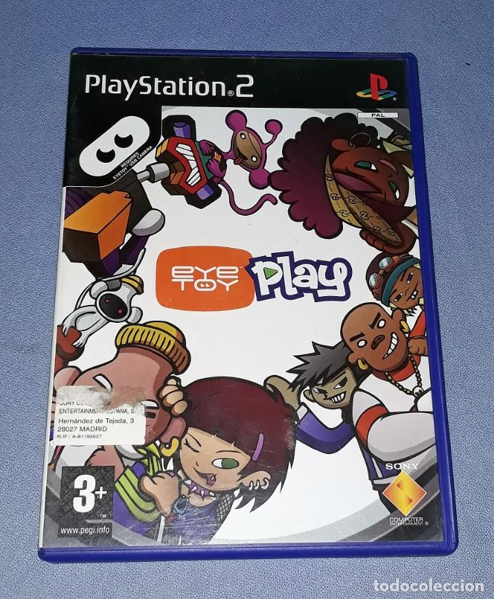 JUEGO COMPLETO PLAYSTATION PS2 EYE TOY PLAY ORIGINAL EN MUY BUEN ESTADO VER FOTOS (Juguetes - Videojuegos y Consolas - Sony - PS2)