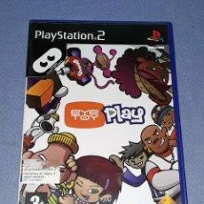 Videojuegos y Consolas: JUEGO COMPLETO PLAYSTATION PS2 EYE TOY PLAY ORIGINAL EN MUY BUEN ESTADO VER FOTOS. Lote 147735714