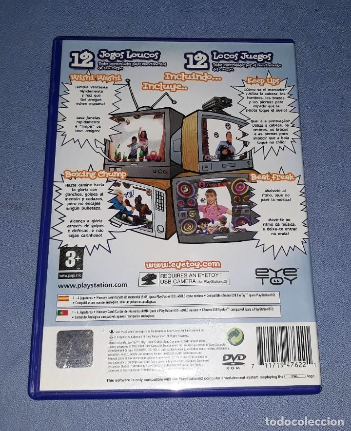 Videojuegos y Consolas: JUEGO COMPLETO PLAYSTATION PS2 EYE TOY PLAY ORIGINAL EN MUY BUEN ESTADO VER FOTOS - Foto 2 - 147735714