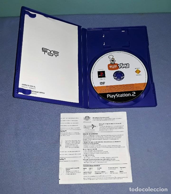 Videojuegos y Consolas: JUEGO COMPLETO PLAYSTATION PS2 EYE TOY PLAY ORIGINAL EN MUY BUEN ESTADO VER FOTOS - Foto 3 - 147735714