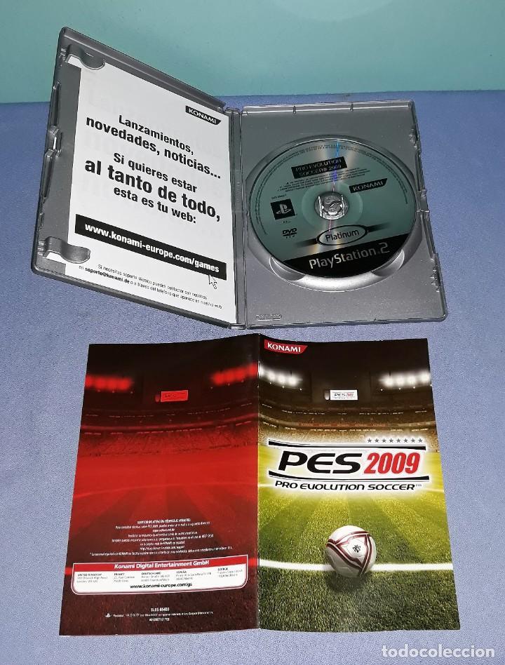 Videojuegos y Consolas: JUEGO COMPLETO PLAYSTATION PS2 PRO EVOLUTION SOCCER 2009 ORIGINAL EN MUY BUEN ESTADO VER FOTOS - Foto 3 - 147736262