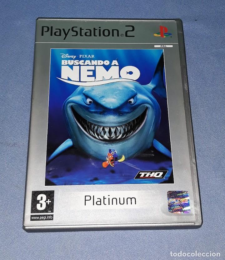JUEGO COMPLETO PLAYSTATION PS2 BUSCANDO A NEMO ORIGINAL EN MUY BUEN ESTADO VER FOTOS (Juguetes - Videojuegos y Consolas - Sony - PS2)