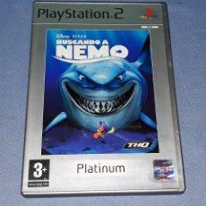 Videojuegos y Consolas: JUEGO COMPLETO PLAYSTATION PS2 BUSCANDO A NEMO ORIGINAL EN MUY BUEN ESTADO VER FOTOS. Lote 147736558