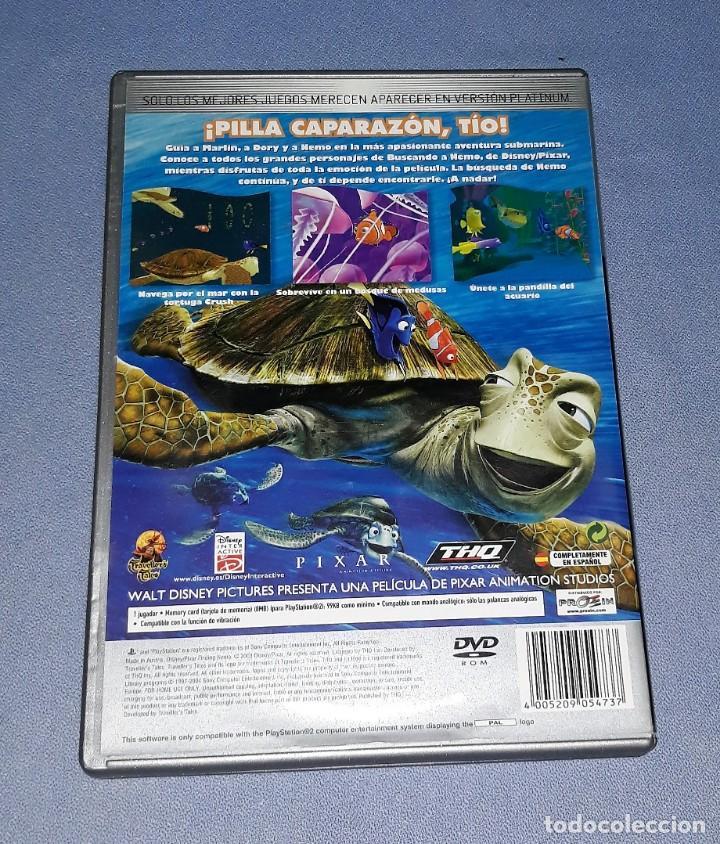 Videojuegos y Consolas: JUEGO COMPLETO PLAYSTATION PS2 BUSCANDO A NEMO ORIGINAL EN MUY BUEN ESTADO VER FOTOS - Foto 2 - 147736558