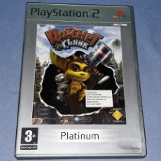 Videojuegos y Consolas: JUEGO COMPLETO PLAYSTATION PS2 RATCHET CLANK ORIGINAL EN MUY BUEN ESTADO VER FOTOS. Lote 147737954