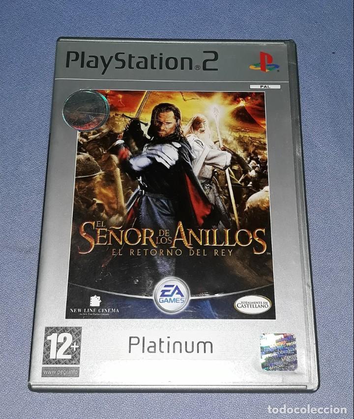 JUEGO COMPLETO PLAYSTATION PS2 SEÑOR ANILLOS RETORNO DEL REY ORIGINAL EN MUY BUEN ESTADO VER FOTOS (Juguetes - Videojuegos y Consolas - Sony - PS2)