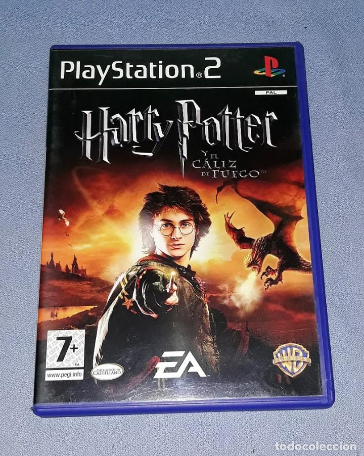 JUEGO COMPLETO PLAYSTATION PS2 HARRY POTTER EL CALIZ DE FUEGO ORIGINAL EN MUY BUEN ESTADO VER FOTOS (Juguetes - Videojuegos y Consolas - Sony - PS2)