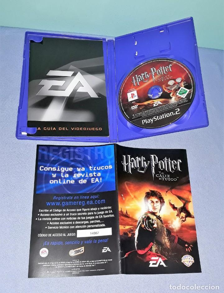 Videojuegos y Consolas: JUEGO COMPLETO PLAYSTATION PS2 HARRY POTTER EL CALIZ DE FUEGO ORIGINAL EN MUY BUEN ESTADO VER FOTOS - Foto 3 - 147739374