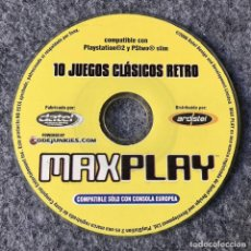 Videojuegos y Consolas: MAX PLAY 10 JUEGOS CLASICOS RETRO SONY PLAYSTATION 2. Lote 147800616