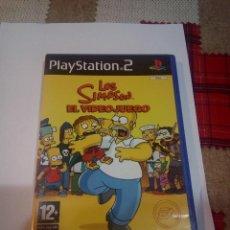 Videojuegos y Consolas: PS2 LOS SIMPSON EL VIDEOJUEGO. Lote 148944318