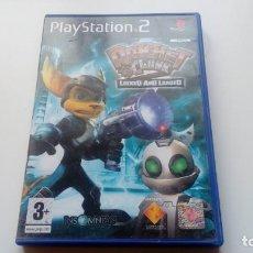 Videojuegos y Consolas: JUEGO RATCHET AND CLANK LOCKED AND LOADED PS2 PLAY STATION 2 DOS PAL UK FUNCIONANDO PERFECTAMENTE. Lote 149208658
