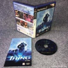 Videojuegos y Consolas: THE THING SONY PLAYSTATION 2. Lote 149341396