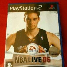 Videojuegos y Consolas: NBA LIVE 06 - JUEGO PS2 - PLAYSTATION 2 (PAL) BALONCESTO BASKET 2006 - PAU GASOL. Lote 149987318