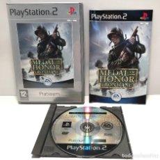 Videojuegos y Consolas: MEDAL OF HONOR FRONTLINE PLAYSTATION 2 PS2. Lote 150068246