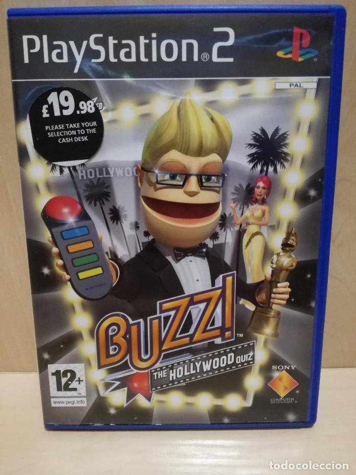 JUEGO PS2 / PLAY STATION 2 - BUZZ THE HOLLYWOOD QUIZ (IDIOMA INGLES) (Juguetes - Videojuegos y Consolas - Sony - PS2)