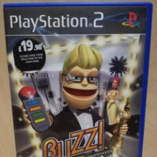 Videojuegos y Consolas: JUEGO PS2 / PLAY STATION 2 - BUZZ THE HOLLYWOOD QUIZ (IDIOMA INGLES). Lote 150409786