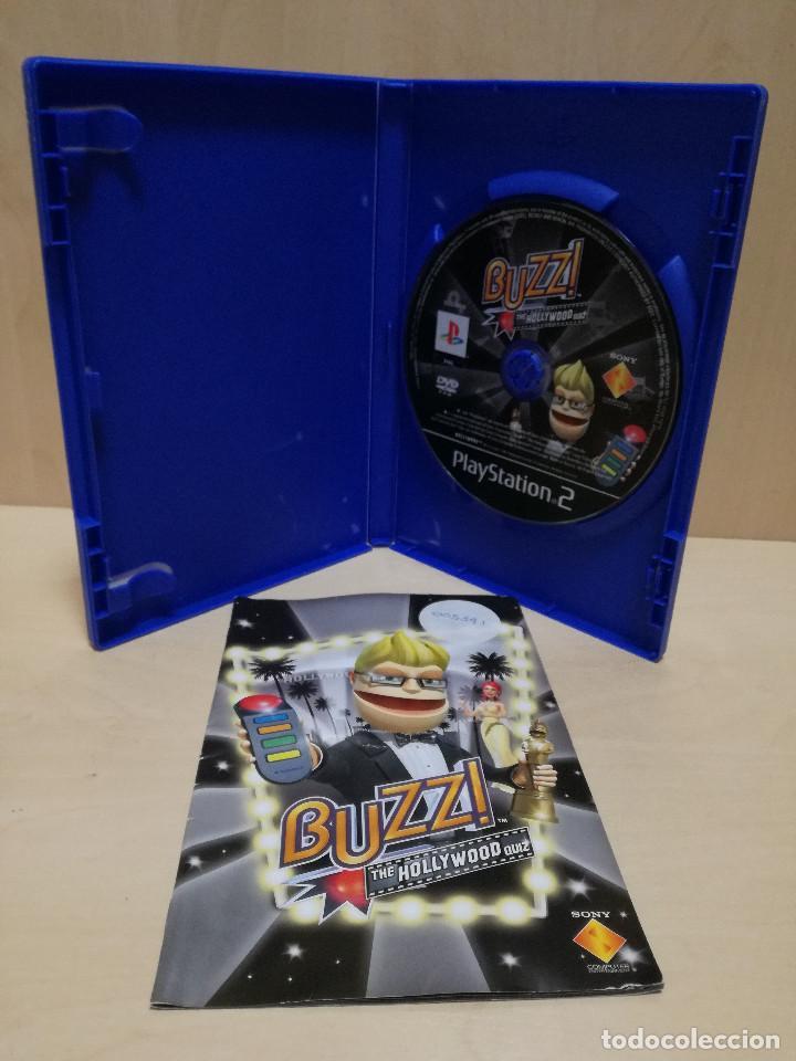 Videojuegos y Consolas: JUEGO PS2 / PLAY STATION 2 - BUZZ THE HOLLYWOOD QUIZ (IDIOMA INGLES) - Foto 2 - 150409786