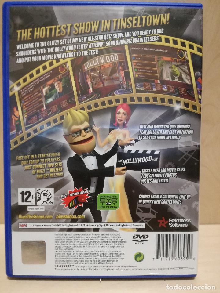 Videojuegos y Consolas: JUEGO PS2 / PLAY STATION 2 - BUZZ THE HOLLYWOOD QUIZ (IDIOMA INGLES) - Foto 4 - 150409786