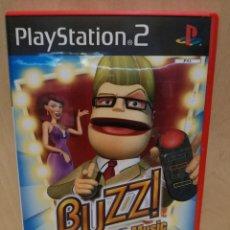 Videojuegos y Consolas: JUEGO PS2 / PLAY STATION 2 - BUZZ THE MUSIC QUIZ (IDIOMA INGLES). Lote 150410386