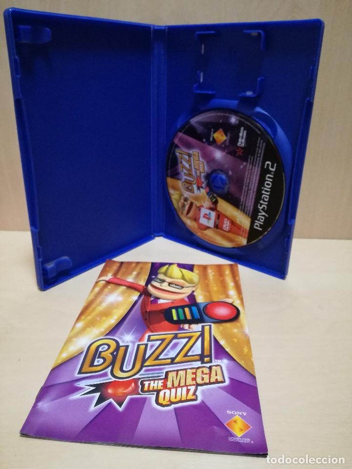 Videojuegos y Consolas: JUEGO PS2 / PLAY STATION 2 - BUZZ THE MEGA QUIZ (IDIOMA INGLES) - Foto 2 - 150411650