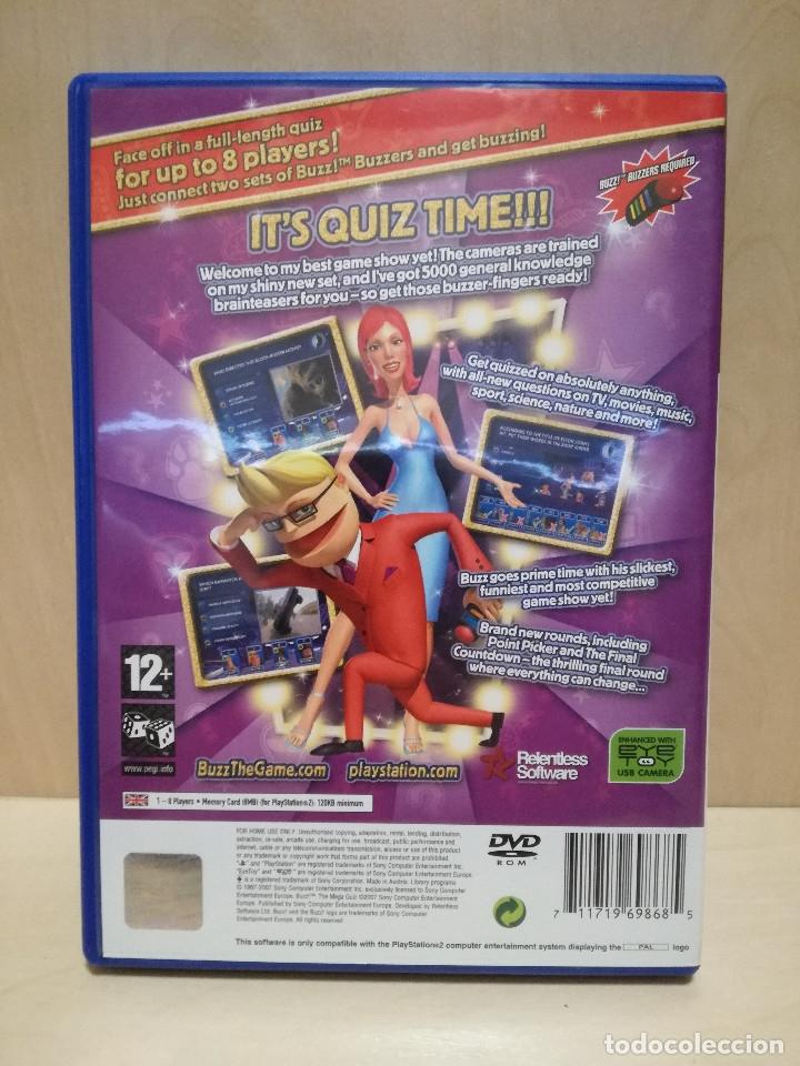 Videojuegos y Consolas: JUEGO PS2 / PLAY STATION 2 - BUZZ THE MEGA QUIZ (IDIOMA INGLES) - Foto 3 - 150411650