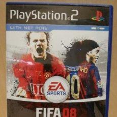 Videojuegos y Consolas: JUEGO PS2 / PLAY STATION 2 - FIFA 08 (IDIOMA INGLES). Lote 150415494