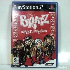 Videojuegos y Consolas: BRATZ ROCK ANGELZ- PLAY STATION 2 - PS2 DOS II - VIDEO JUEGO SONY -. Lote 150819154